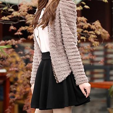 Vrouwen snoep kleur elastische taille mini geplooide rok