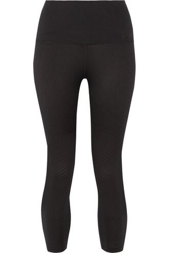 leggings cropped black pants
