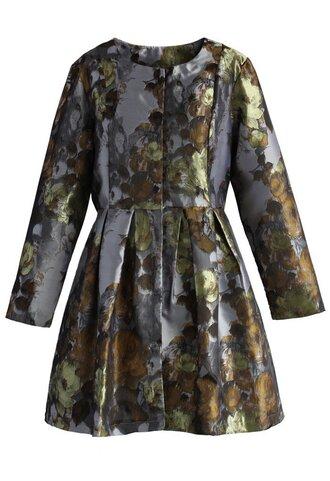 dress matellic glam pleated dress chicwish pleated dress prom dress