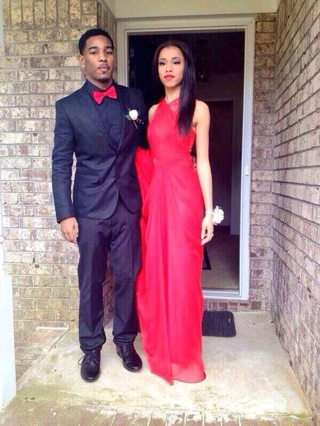 dress red red dress red prom dress long prom dress sleeveless dress