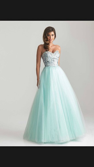 ball gown long dress prom dress blue dress ball gown dress light blue sparky dress sparkly dress sparkles shiny