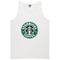 Starbucks coffee tanktop - basic tees shop