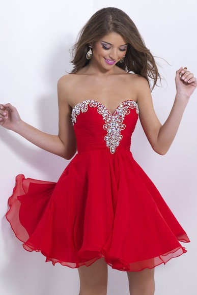 cocktail dresses evening gown 2014 party dress homecoming dress red party dress ball gown red