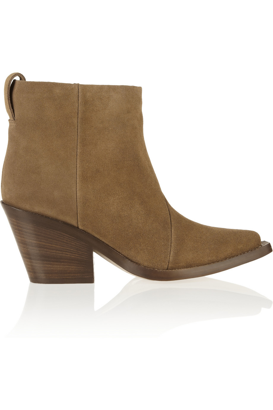 Acne Studios Donna suede ankle boots – 55% at THE OUTNET.COM