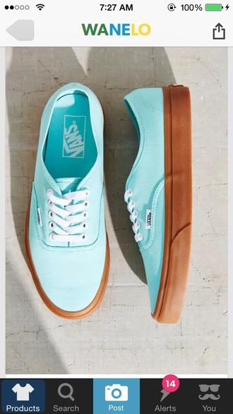 shoes vans blue