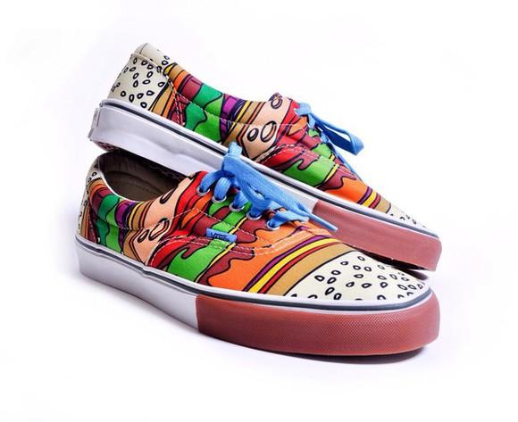 shoes vans burgers