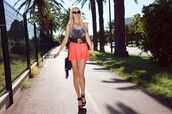 meri wild,swimwear,skirt,belt,bag,jewels,sunglasses,shoes
