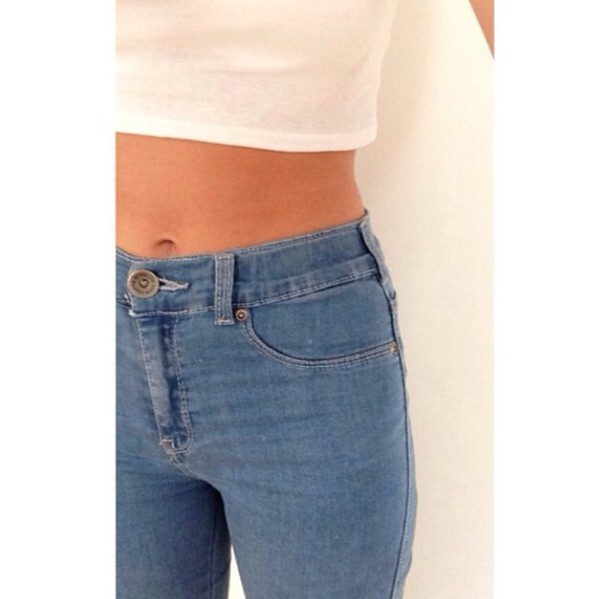jeans blue high waisted jeans tumblr