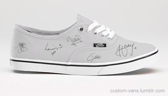 shoes one direction shoes grey shoes vans perfect