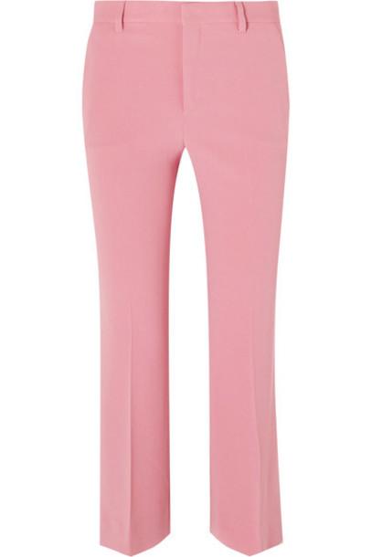 Miu Miu pants cropped pink