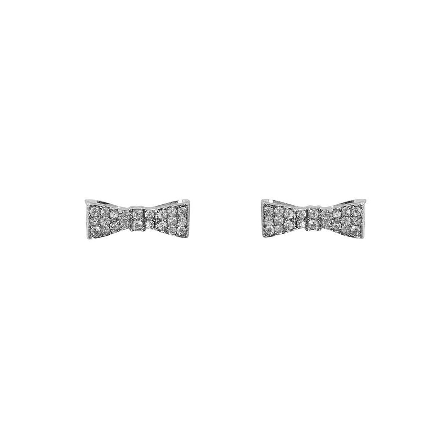 Amazon.com: humble chic women's mini bow studs