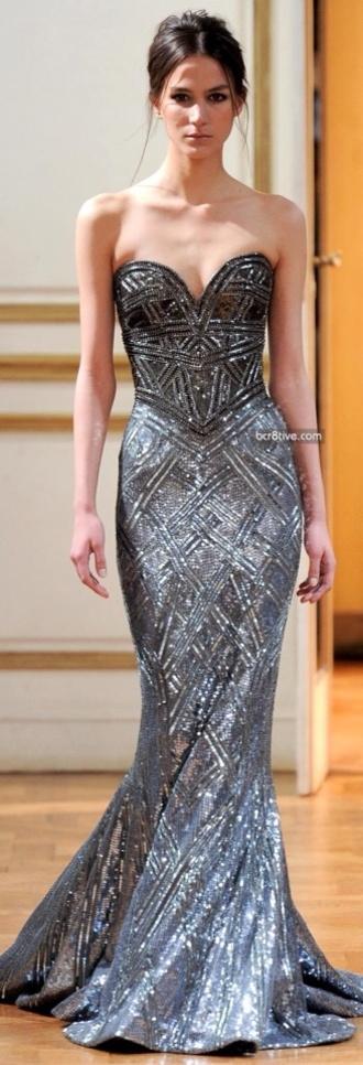 dress shiny shiny dress silver dress glitzy glamorous prom gown