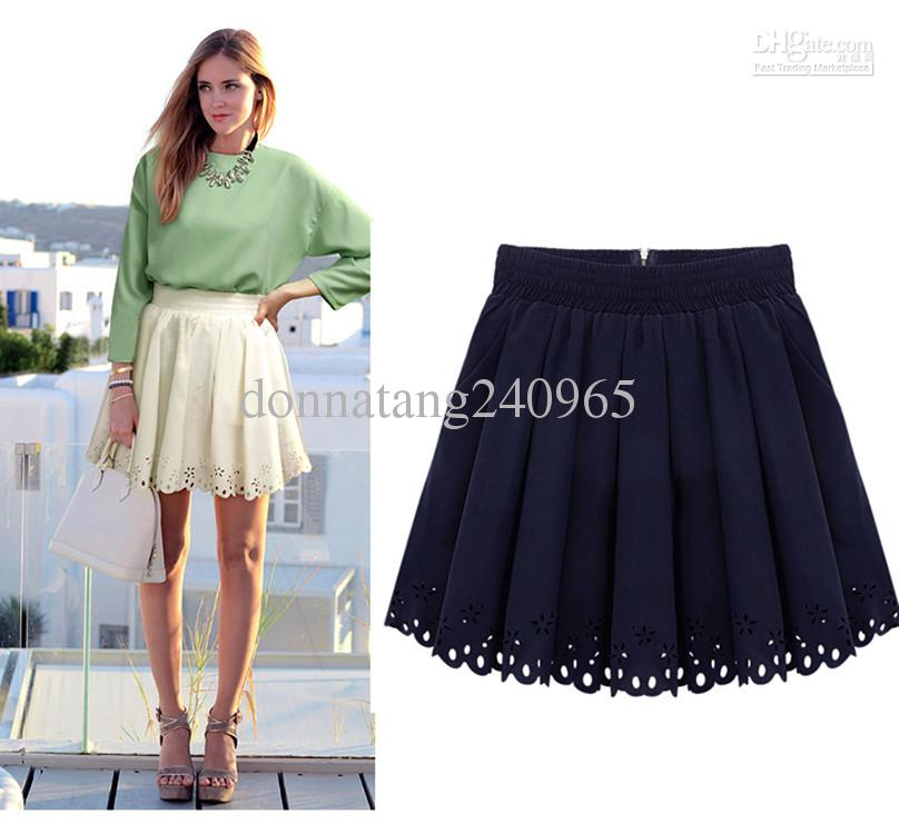 Cheap Laser Cutting Skrit - Best Short a Line Skirt Latest Skirt Design Pictures Online with $20.58/Piece | DHgate
