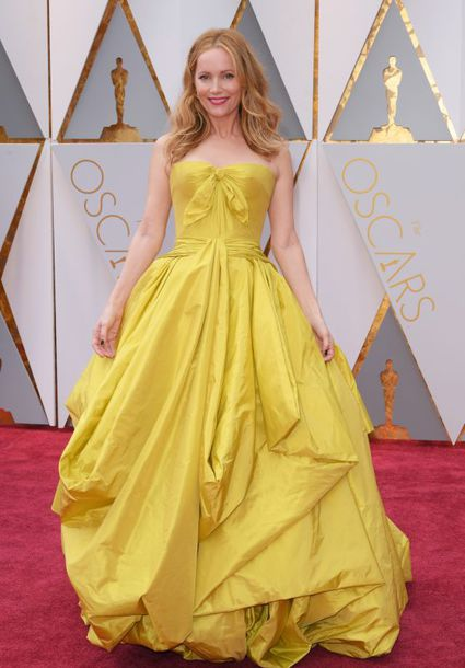 dress, leslie mann, gown, prom dress, yellow, yellow dress, red ...