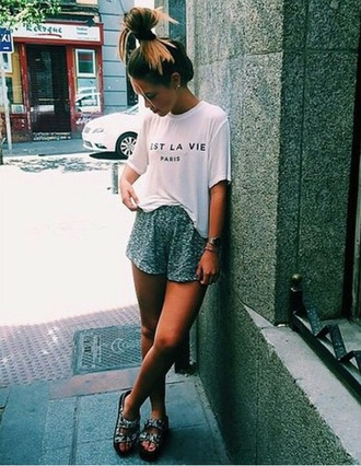 shorts pijama lace shorts girl fashion outfit outfit idea tumblr