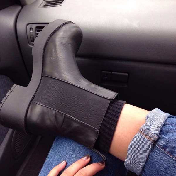 shoes boat black boots boots chelsea boots black