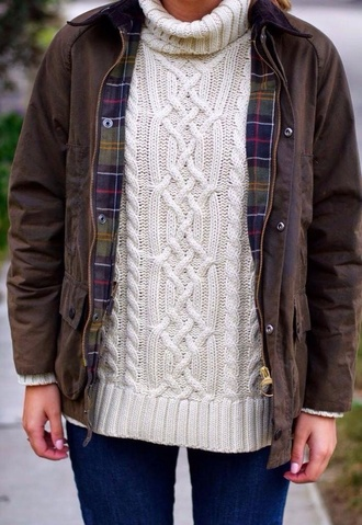 sweater wool roll neck white hipster indie tumblr pretty