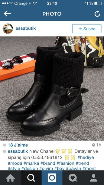 shoes leather boots black boots black booties