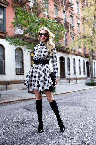 bag blogger sunglasses atlantic pacific checkered belt