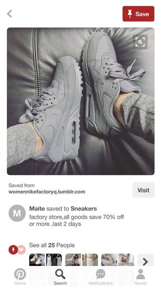 shoes grey nike grey sneakers