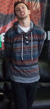 jacket,tyler joseph,pattern,mens hoodie
