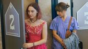 dress,lady bird,saoirse ronan,celebrity,movie,pink dress,necklace
