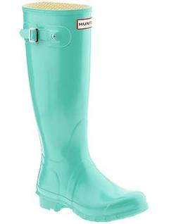 GREEN HUNTER RAIN BOOTS on The Hunt