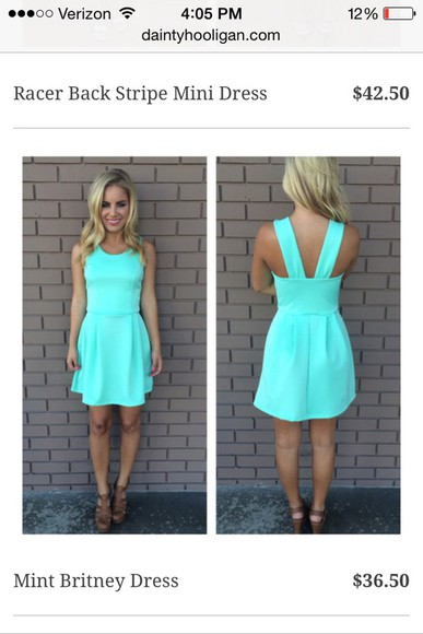 mint bluedress daintyhooligan shortbluedress mintdress