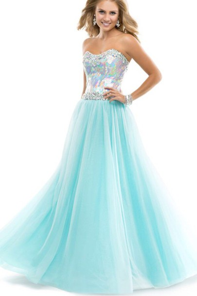 dress long prom dress prom dress sparkly dress teal dress corset top long dress