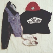 jacket,shirt,t-shirt,coat,hat,sweater,jeans and leather jacket,vans,beanie,converse,denim jacket,leather sleeves,black,blue,red,leather,vans crop  white convers,denim,vans shirt,leather jacket,chuck taylor all stars,hipster,jeans,rock,vans of the wall,fashion,style,blue shirt,collar