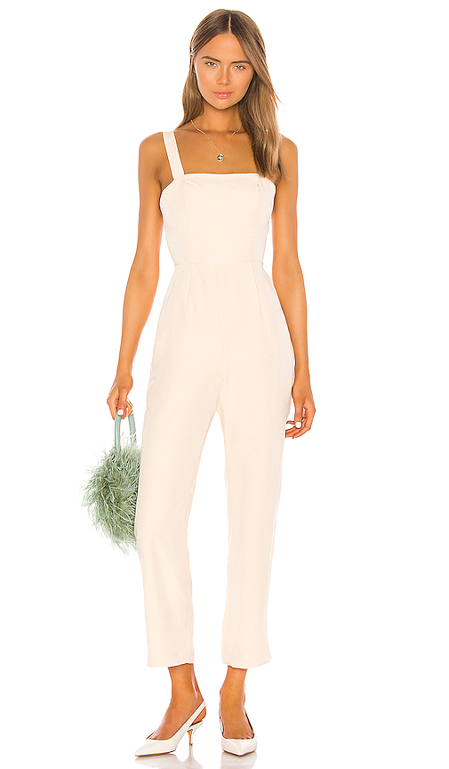 LPA Jacinto Jumpsuit in Ivory from Revolve.com