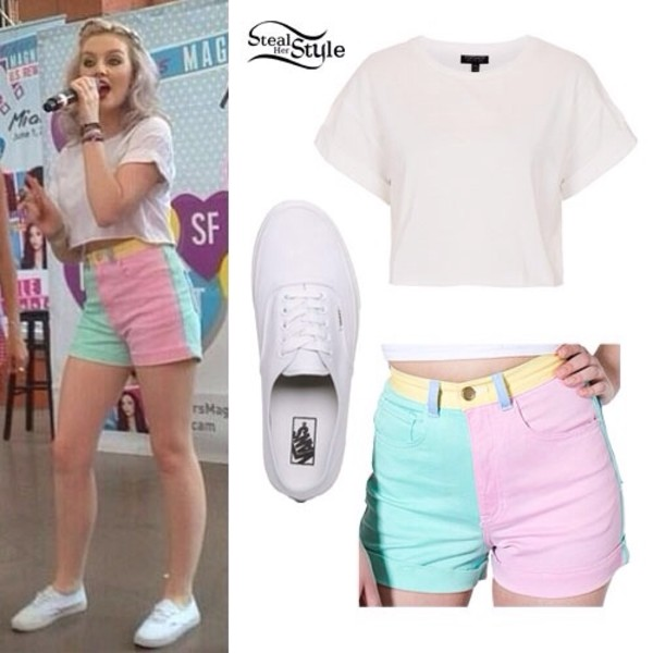 shorts perrie edwards little mix