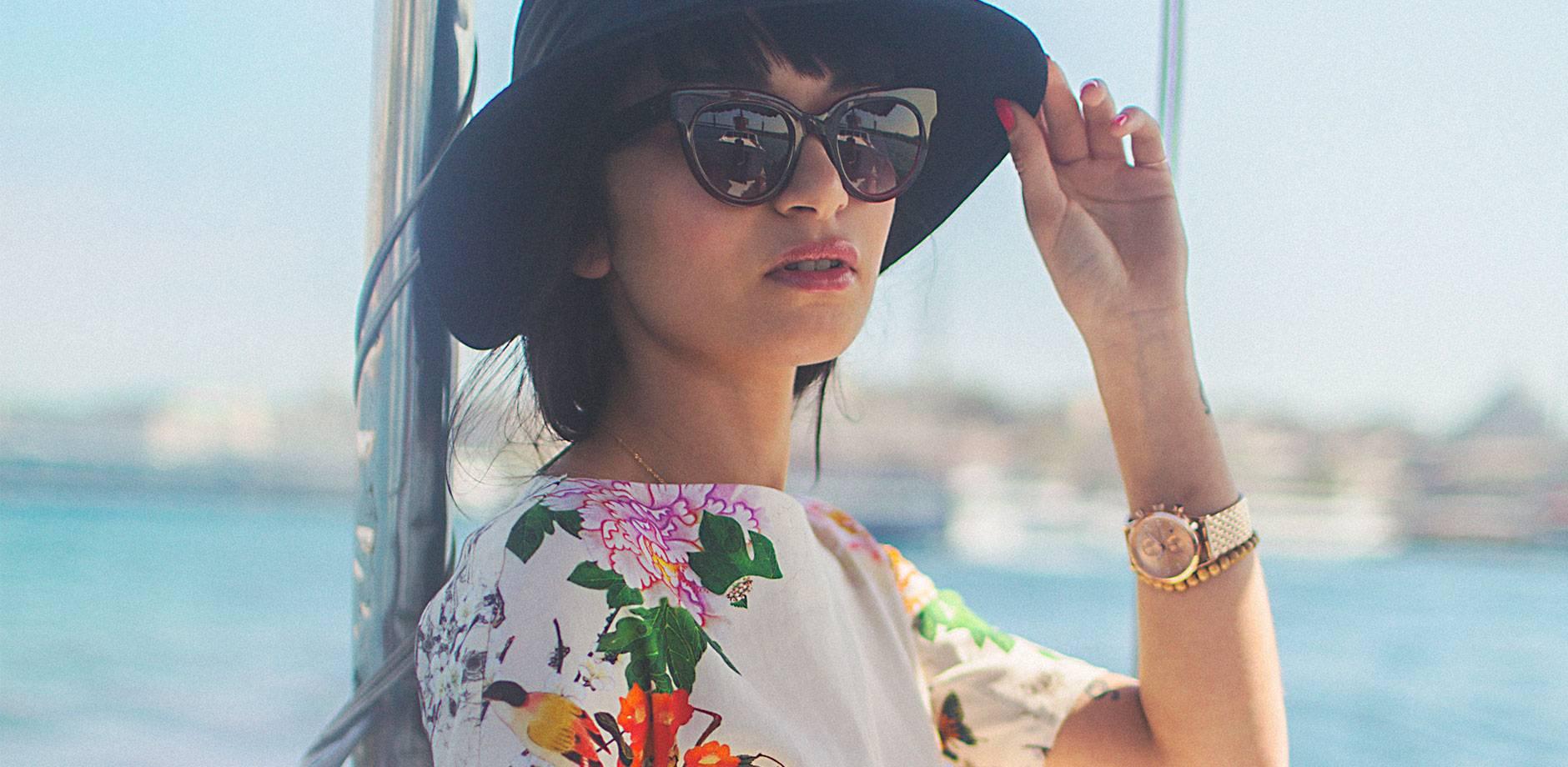 TRIWA - Sunglasses - Crimson Olivia