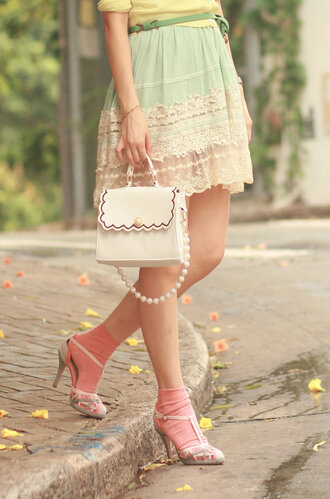 mellow mayoness skirt bag