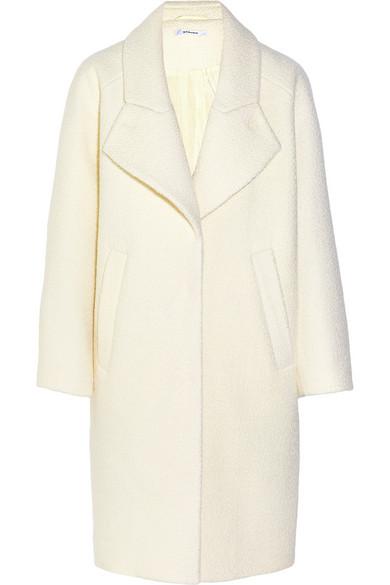 Carven | Wool-bouclé cocoon coat | NET-A-PORTER.COM