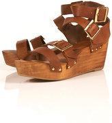 Fancytreehouse — topshop wonda wooden sandals 8.5
