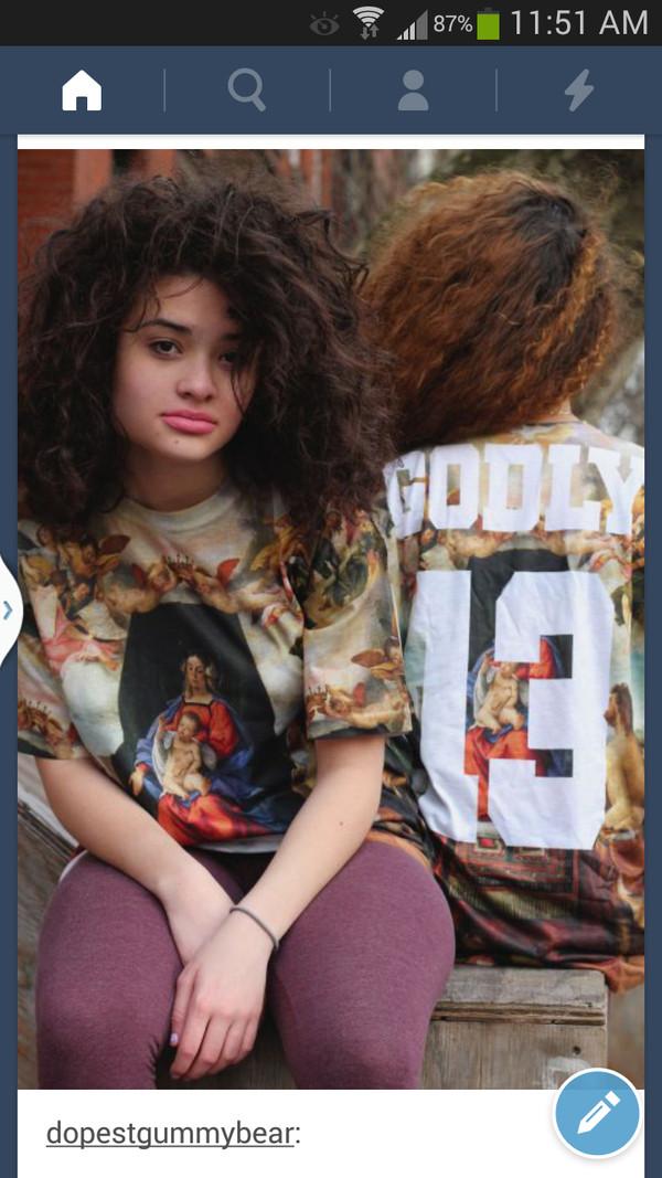 shirt tumblr jersey T