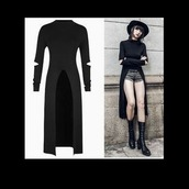 dress,goth,punk,harajuku,nu goth,goth dress,nu goth dress,tumblr,hat,cute,clothes