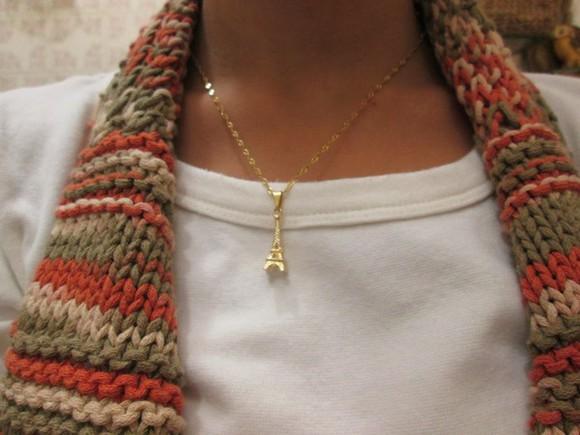 paris necklace jewels eiffel tower france