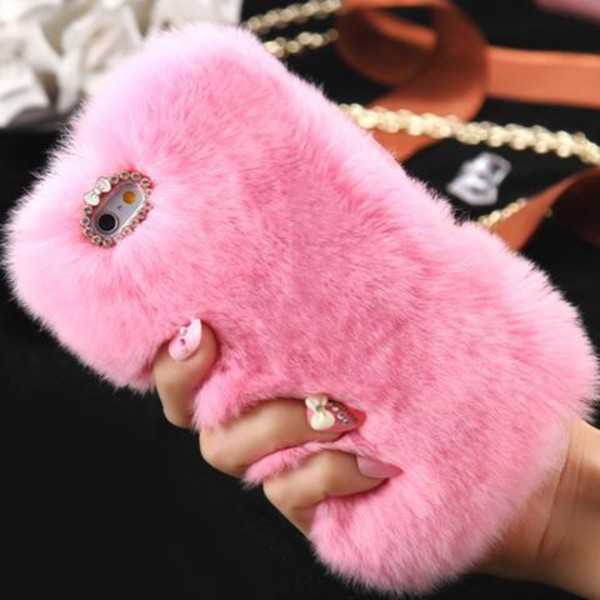 girl girly girly wishlist pink fur furry phone case iphone cover phone cover