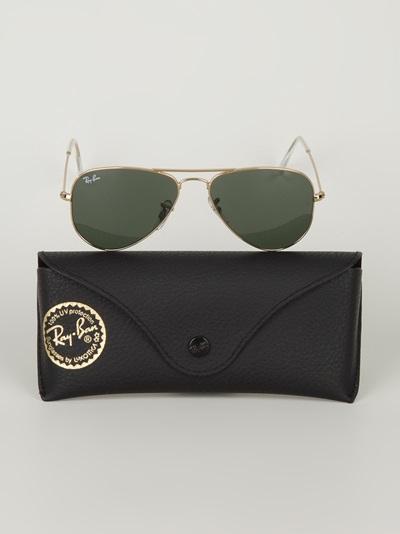 Ray Ban Classic Aviator Sunglasses -  - Farfetch.com
