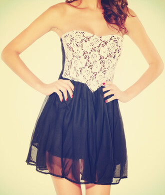 dress strapless strapless dress lace black and white white black lace dress white lace dress