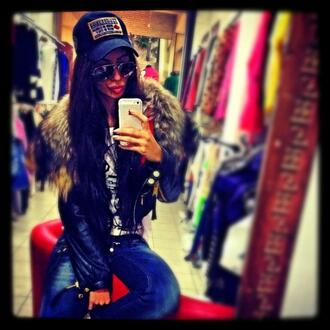 jacket fur raccoon sheep leather dsquared2 dsquared skin jacket must have sheep leather jacket