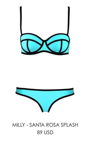 swimwear blue swimwear triangl