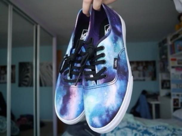 space vans shoes