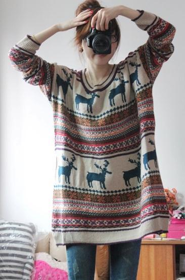 Vintage animal sweater 130ss