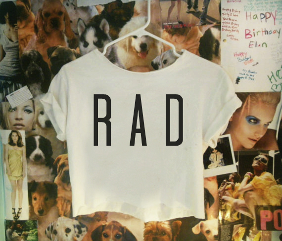 RAD Crop Top - Nerdy Youth