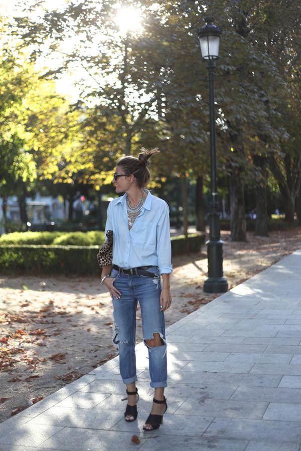 b a r t a b a c blogger jeans bag belt sunglasses jewels