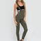 Major makeover jegging overalls white olive - gojane.com