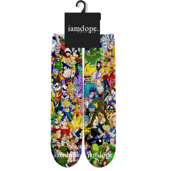 cartoon swag comic con dope socks socks all over print front and back sublimation